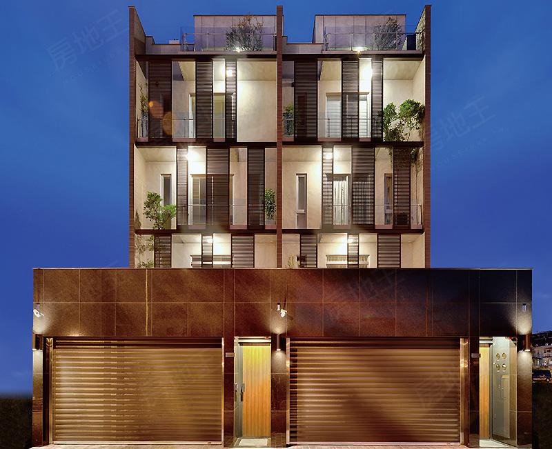圖片:台南市安南區四車庫電梯別墅【華力朗朗】華力建設