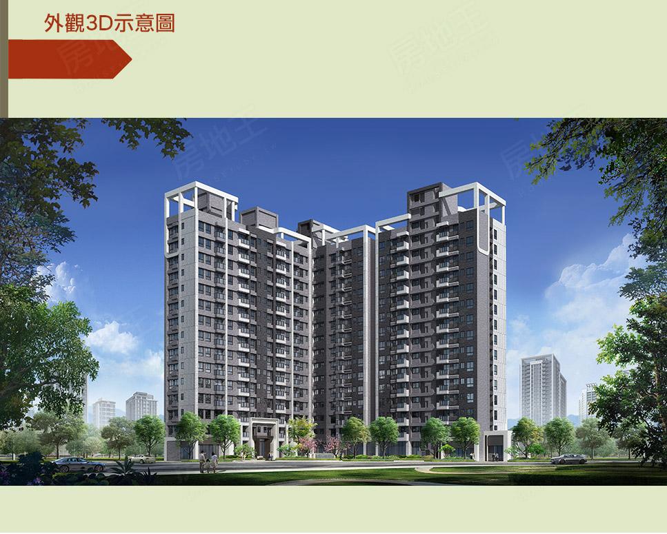 圖片: 桃園龜山預售大樓新建案—鴻築建設「鴻典」