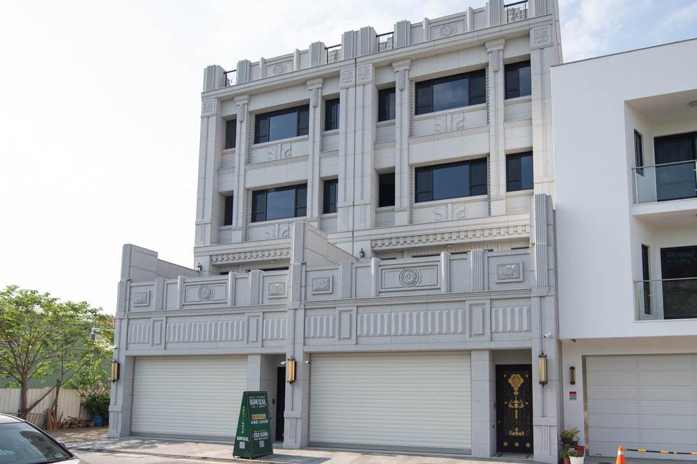 圖片:「福岡寬庭21期」金天元建設.萬客隆建設 崗石電梯豪墅 全新完工
