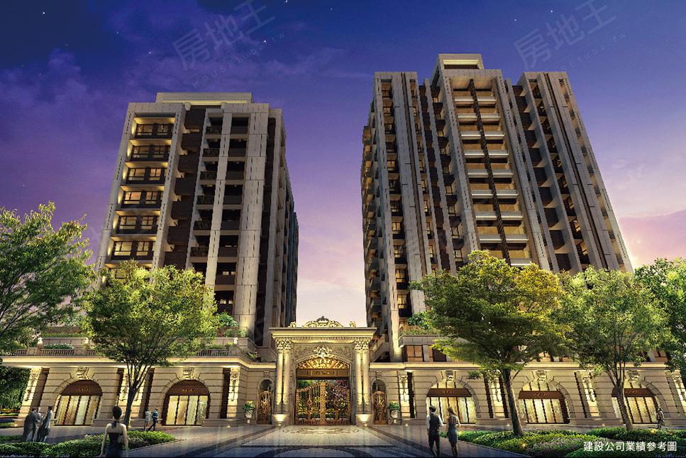 圖片:台北市南港區預售大樓店住【香榭帝寶】甲山林建設