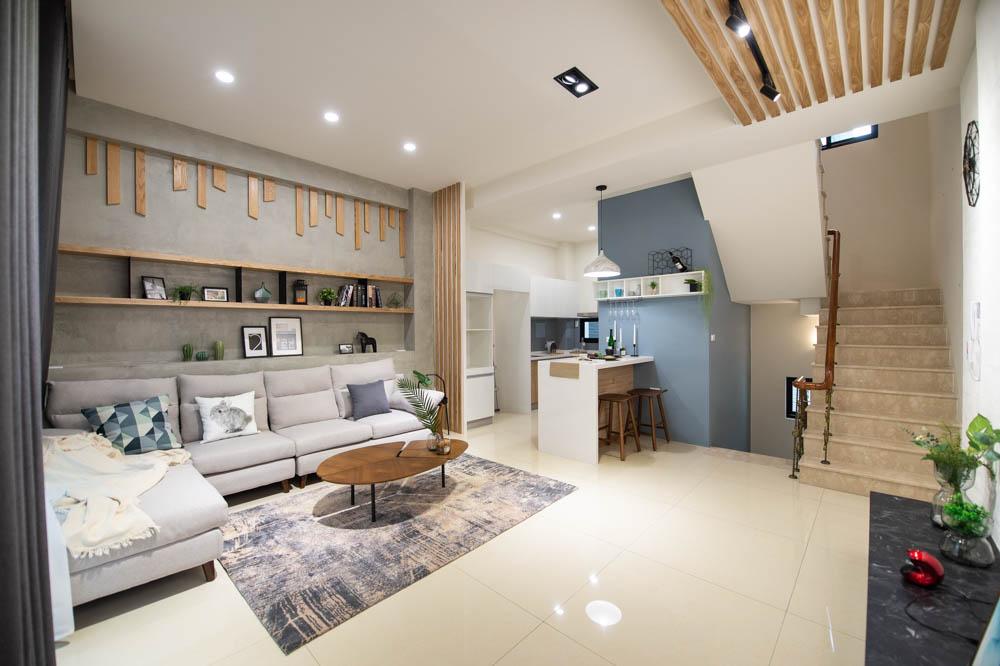 圖片:台南安平區透天雙車墅富寓建設「富寓11」大樓價享受與濃綠為鄰,孩子輕鬆就讀明星學區