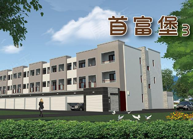 圖片:台南市新市區施工透天別墅【首富堡3】堡富建設