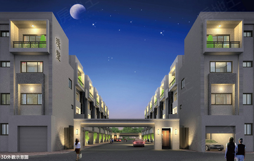 圖片:台南市善化區預售透天別墅【璞墅2】環國建設