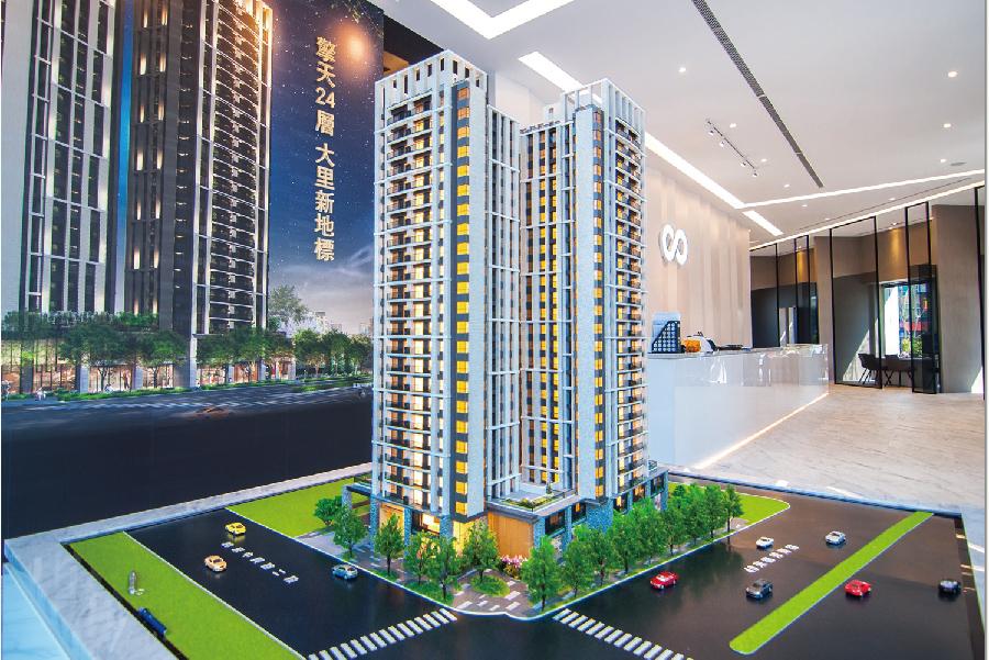 圖片:熱銷建案推薦|沅林•築青 台中大里核心地王 24層建築新地標