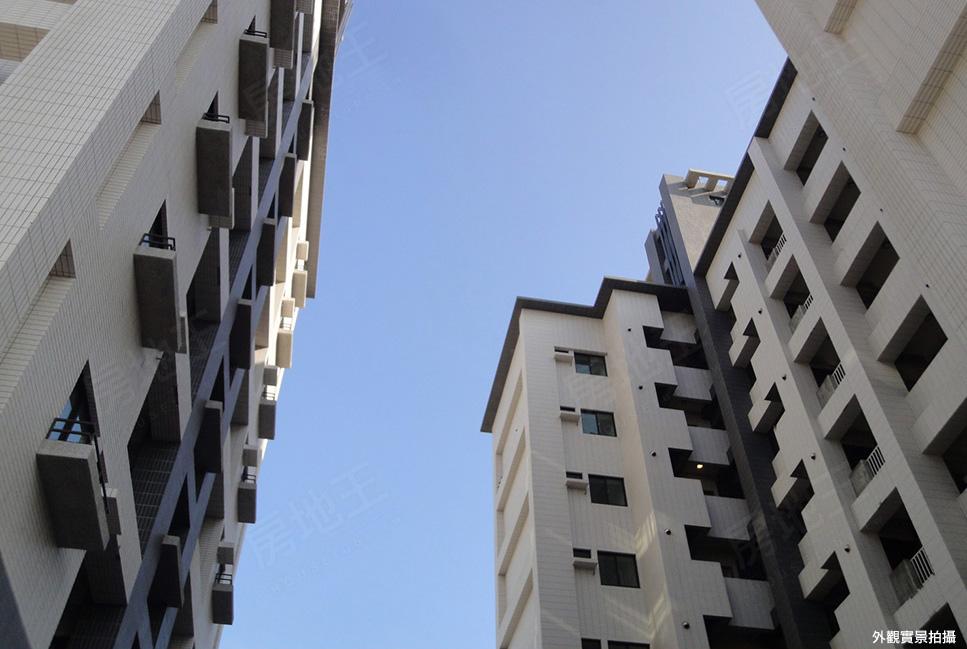 圖片:台南市永康區成屋華廈【城市樂章】郡成建設