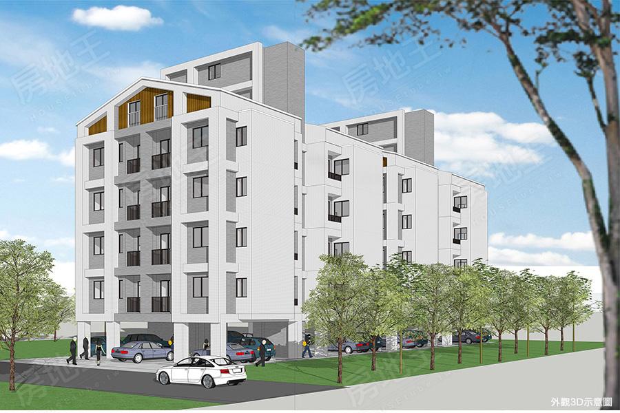 圖片:台南市安南區預售公寓【東知曉】華禧開發建設