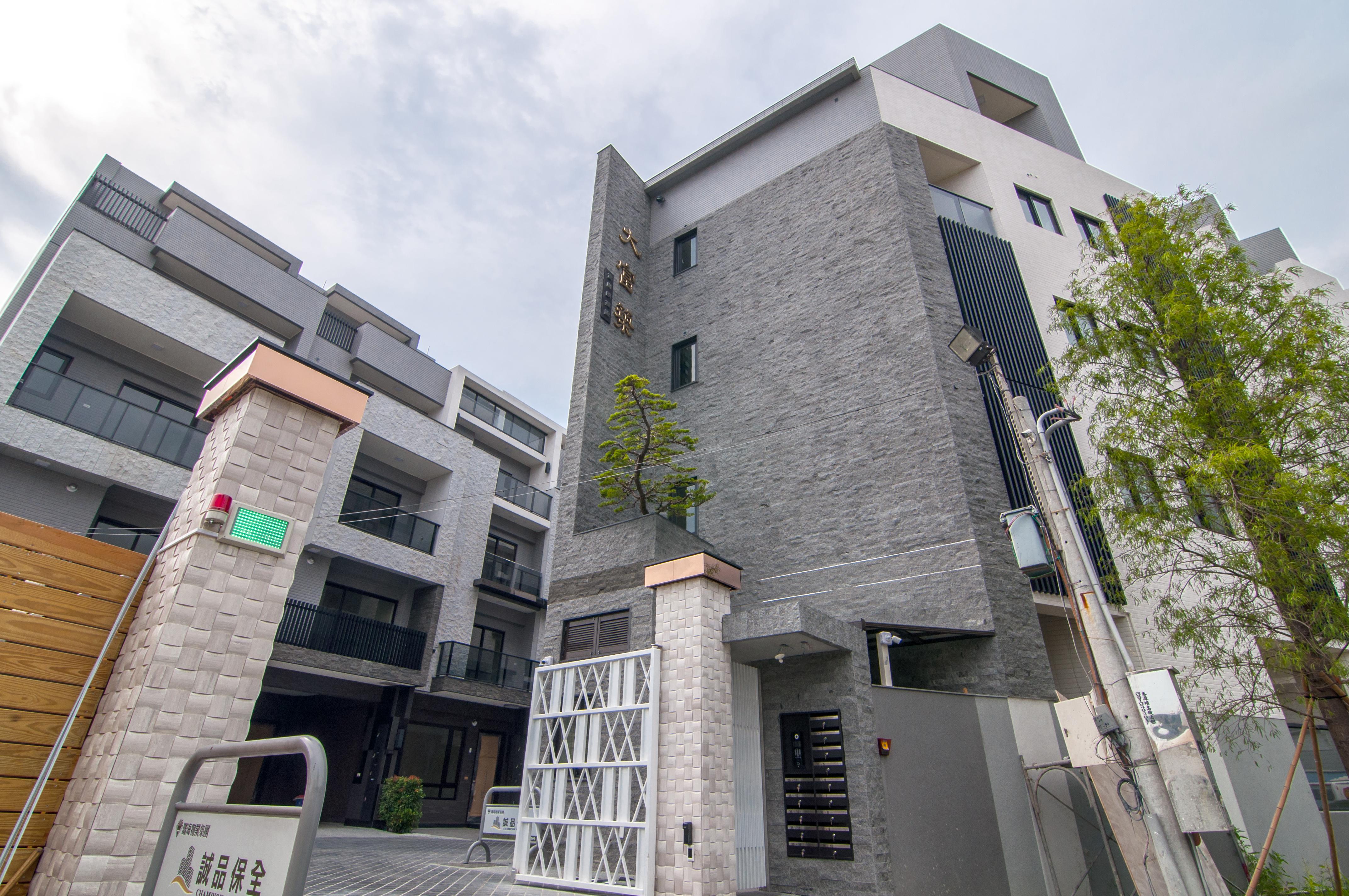 圖片:烏日區建案開箱 | 富川原建設大富築。視界的寬度 決定人生的高度 療癒系景觀渡假宅