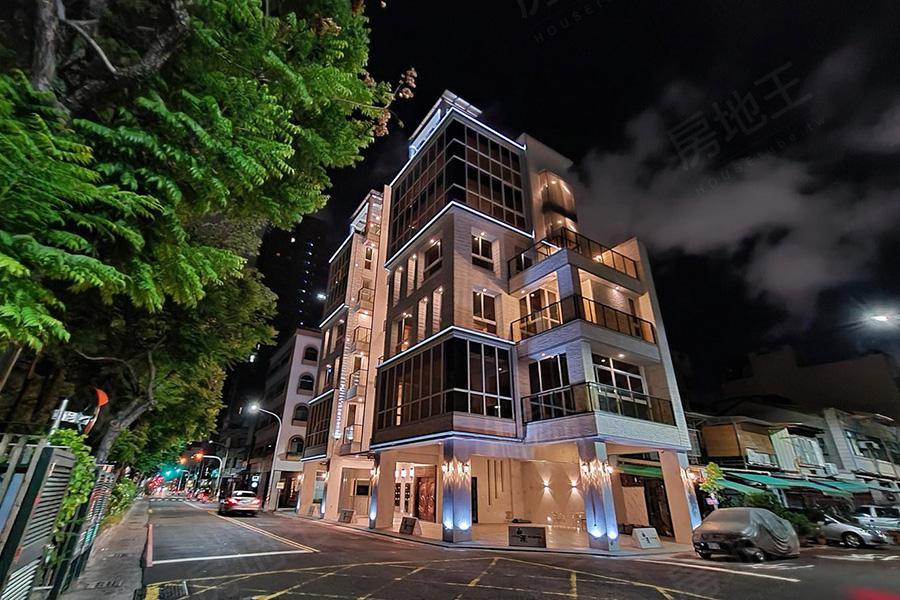 圖片:高雄市前金區成屋透天電梯店住【白澤】旺角建築開發