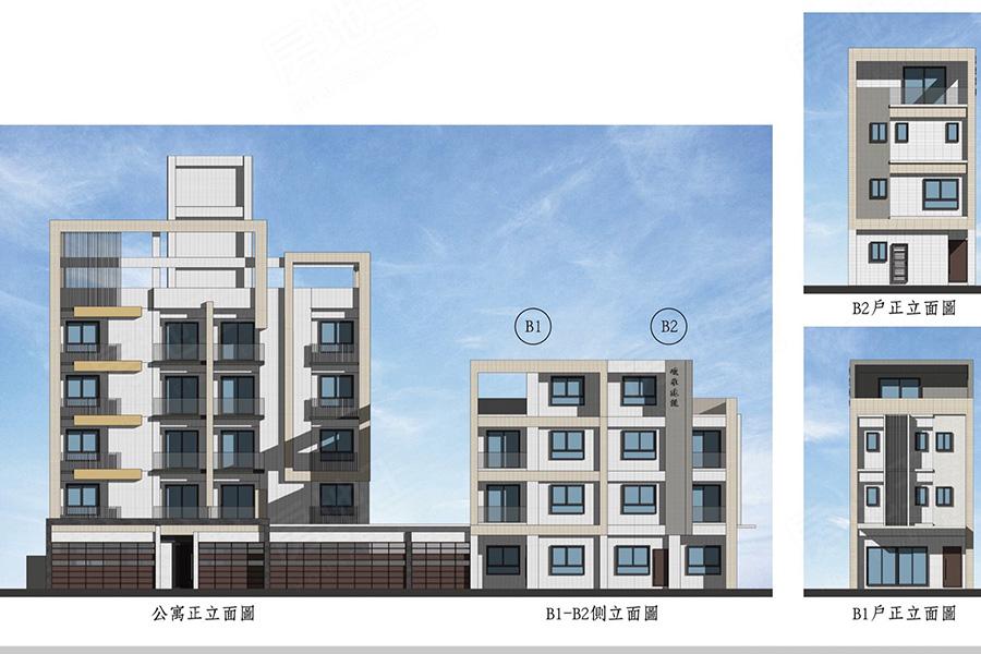 圖片:高雄市大寮區電梯公寓【興隆世家NO.2電梯公寓】峻承開發