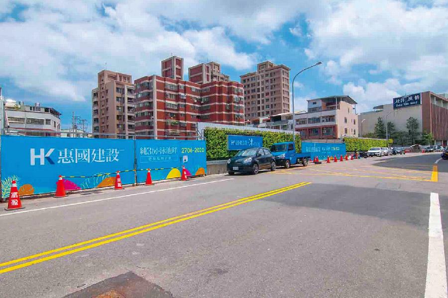 圖片:建案搶先看 | 惠國建設 沐微風 大雅學府路商圈 泳池渡假飯店宅