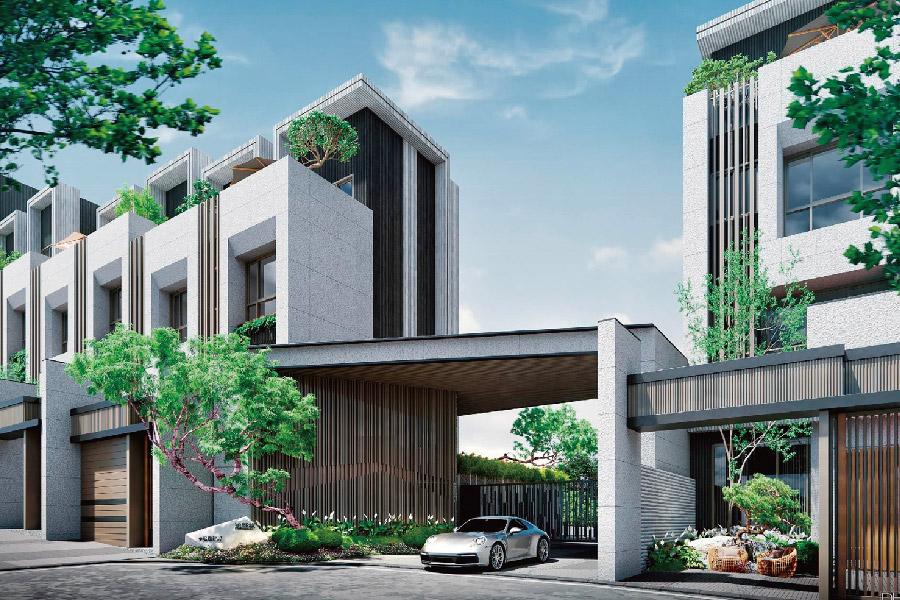 圖片:鴻豫建設 鴻墅林。源自七期豪墅DNA  工藝美學傳承者