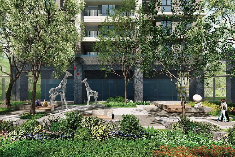 圖片:台中建案開箱 | 精銳闊。超綠覆 國際景觀宅 令人驕傲的家森活!