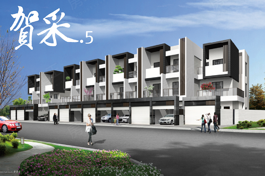 圖片:台南市西港區預售透天別墅【賀采5期】崴名建設