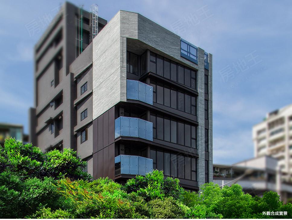 圖片:四大商圈環繞真方便 新北市新成屋 漢皇開發「漢皇美緹」