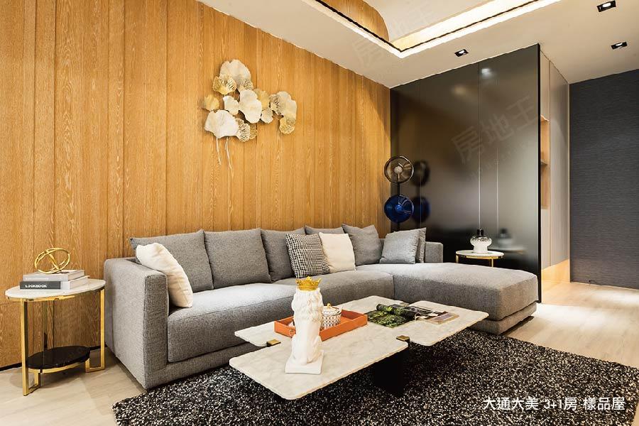 圖片:大通大美|坪效再進化 3+1房熱銷倒數 住進台中西區精華區|台中建案開箱