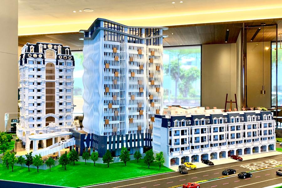 圖片:嘉義市建案開箱 | 金石龍悅。旗艦店墅&時尚大樓