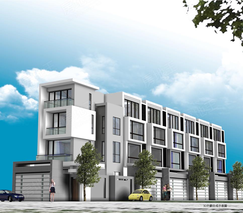 圖片:建案搶先看┃台南善化新案 家多美2:用心蓋好別墅 讓您的家多美