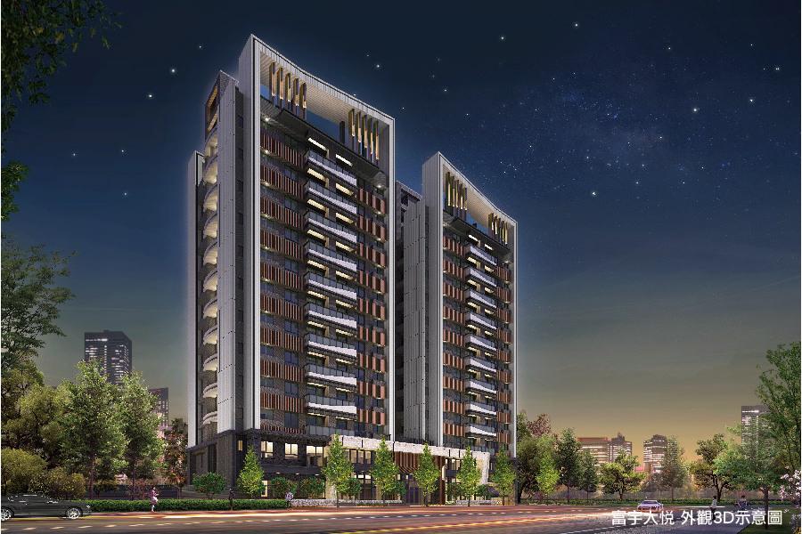 圖片:富宇大悦|清水市中心2-3房 百年一遇星級飯店宅|海線建案開箱