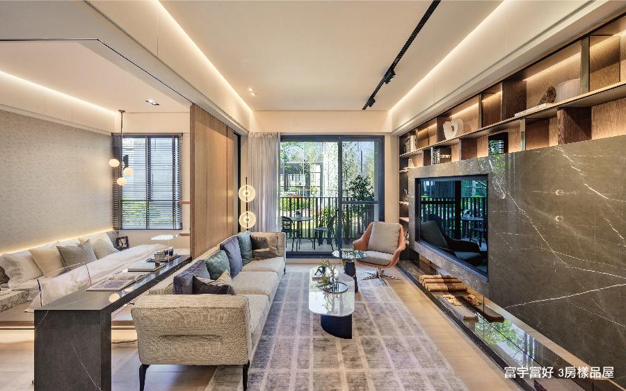 圖片:窗景3房開箱 | 富宇富好。機捷特區地王  雙鐵交匯 雙萬坪公園核心