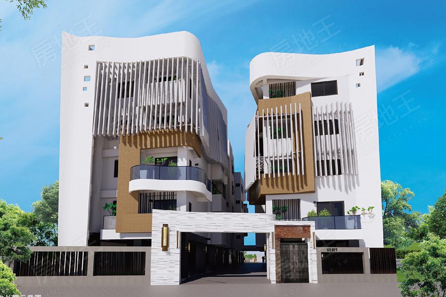 圖片:建案搶先看 | 福德開發 福德好人居2.0 嘉義東區公園旁的日式精品公寓