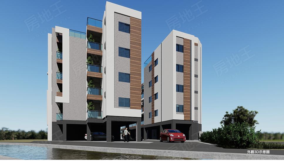 圖片:荷田樂-公寓區&透天區 打造日系建築最美的家