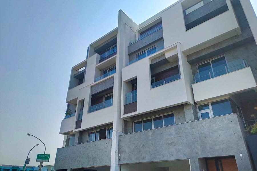 圖片:台南安南透天新建案 | 清禾田6,匠心獨具的九份子電梯豪墅