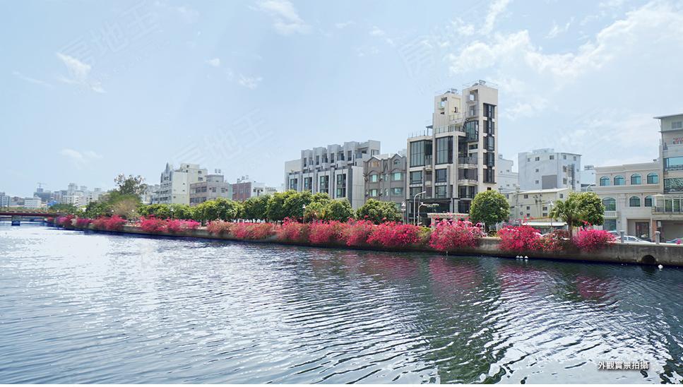 圖片:河曦錄 獨棟電梯美墅,層層皆與河邊景致對話