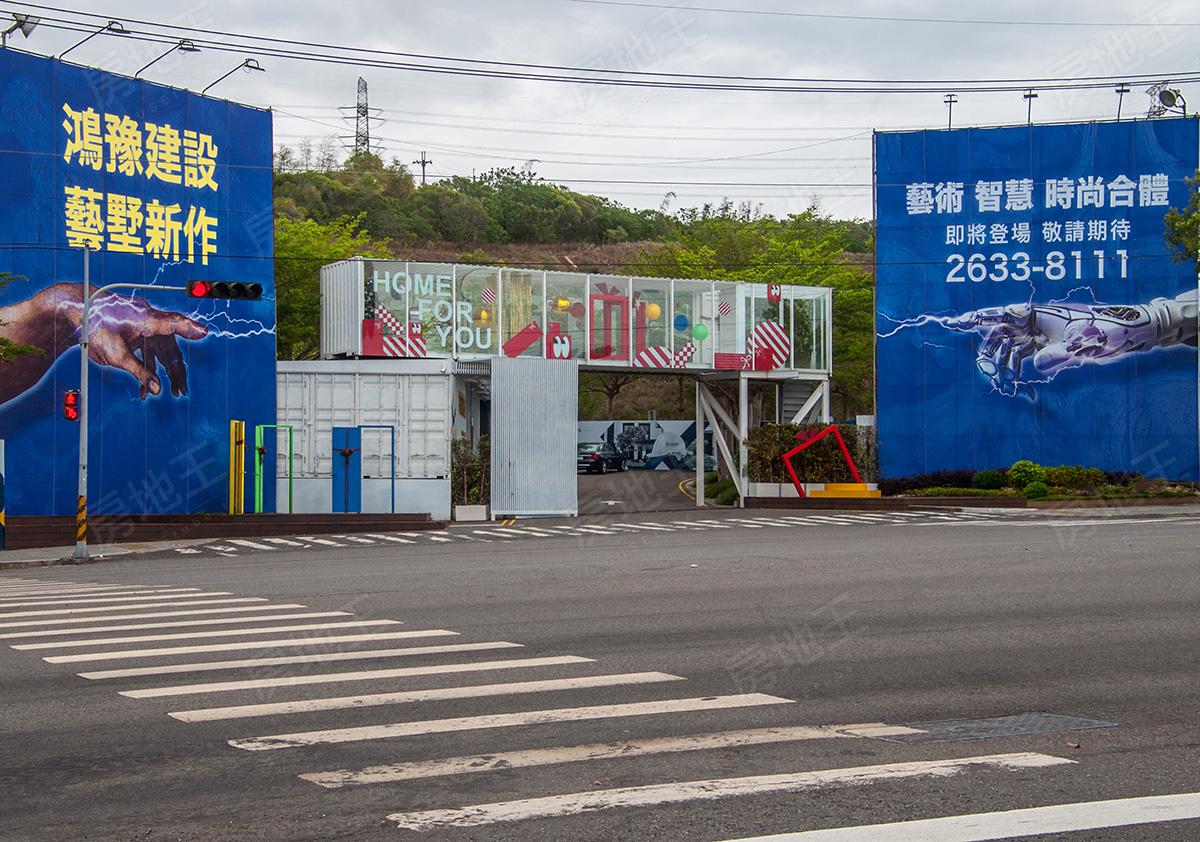 圖片:建案搶先看 | 鴻藝墅 鴻豫建設 藝墅新作|向上新光田特區 中科生活圈