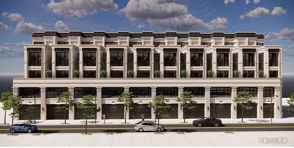 圖片:鶯歌區電梯別墅 立澄建設立瑾綻 打造自己心中理想的新美墅