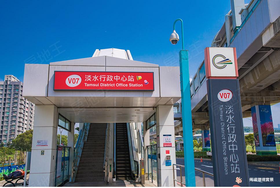 圖片:溪福建設 淡水區大樓 囍悅MRT 處巷內安靜不吵雜