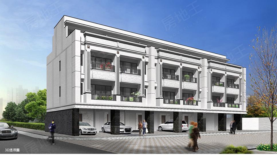 圖片:晶陽建設 安南區透天別墅 雙禧園23期 戶戶套房讓家居生活最舒適