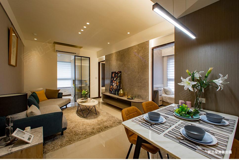 圖片:嘉廷建設 板橋區大樓 臻園 市區中的鬧中取靜純住家環境