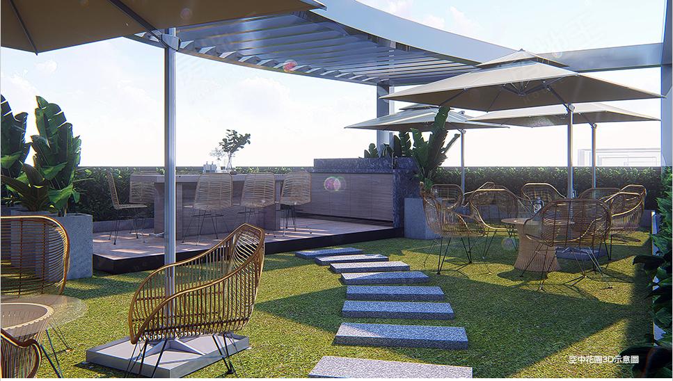 圖片:合創開發 淡水區大樓 海鷗日光 輕鬆坐擁紅樹林富人灣生活版圖