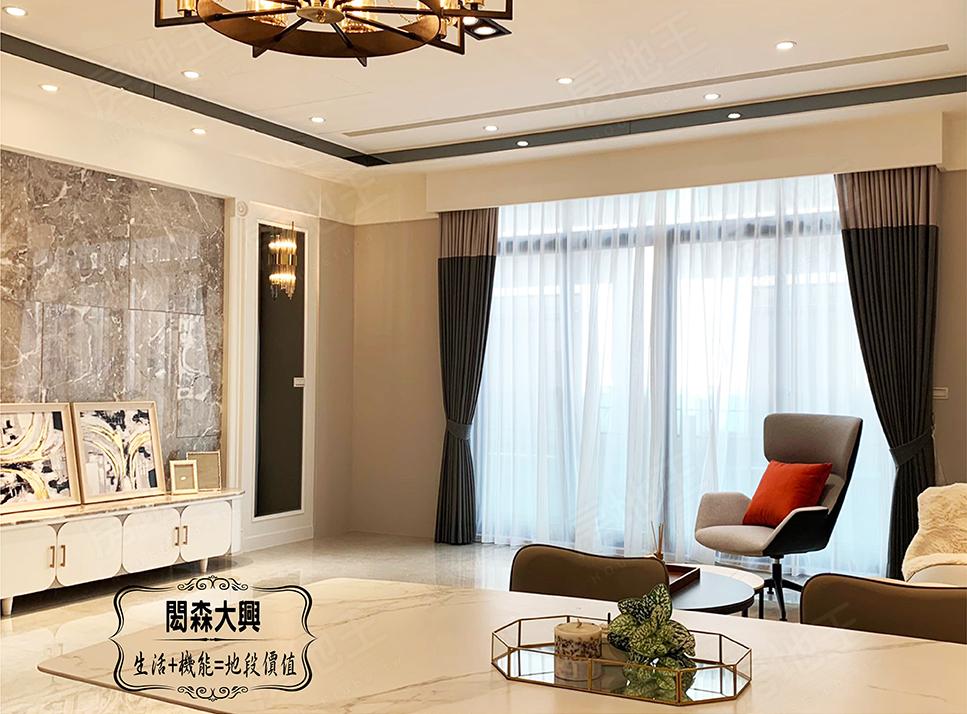 圖片: 閎森建築 台南北區透天別墅 閎森大興 北區高地段