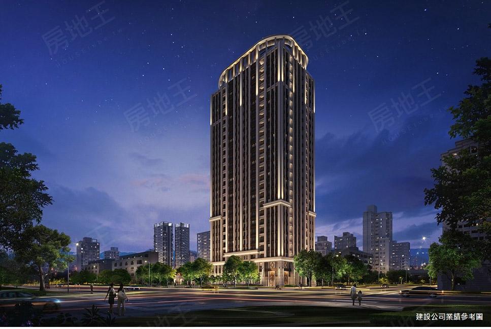 圖片:中和區大樓 漢吉建設 欽禾 新古典地標建築