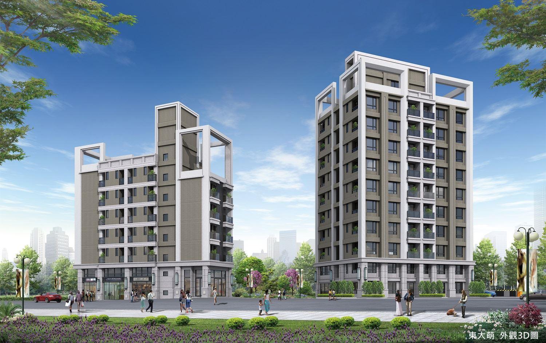 圖片:東大萌|東海國際學區首排 135公頃森濤綠海 書香捷運宅 |建案開箱