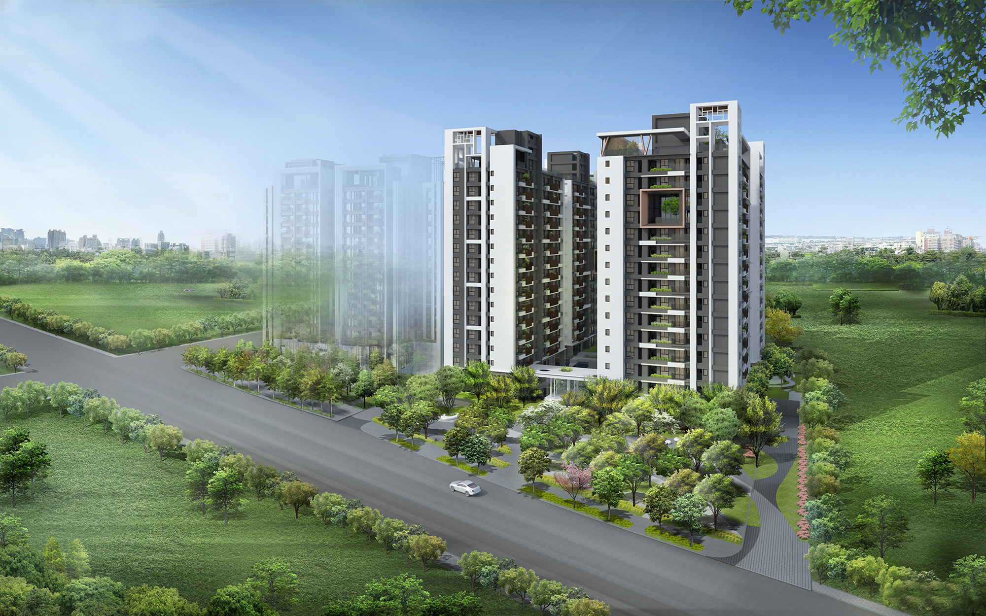 圖片:陞霖執美|5200坪自然系植感 新光重劃區 森林綠寓|建案開箱